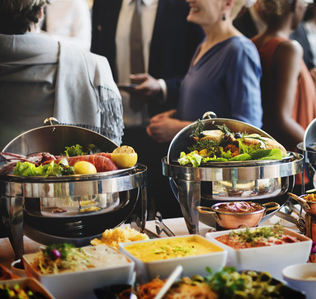catering buffet set up for all events occasion